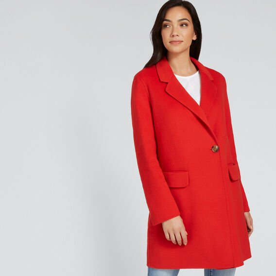 Streamline Coat  FIERY RED  hi-res