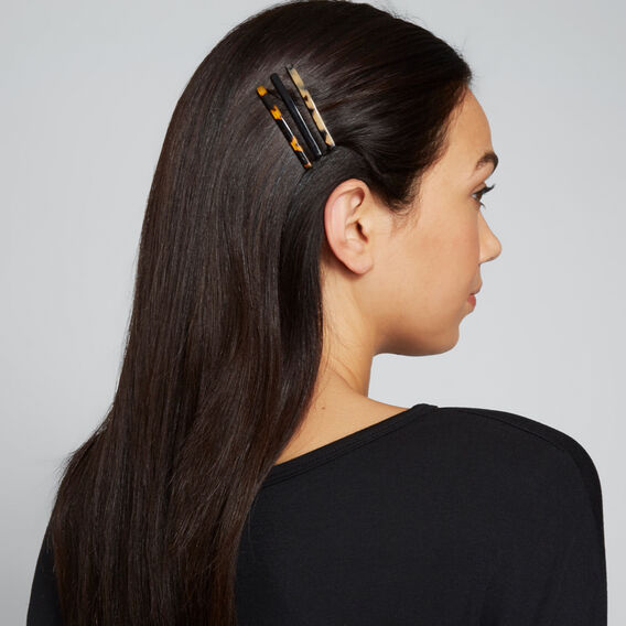 Skinny Tort Hair Slides  MULTI  hi-res