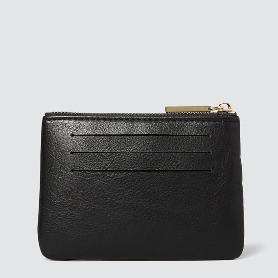 Pippa Coin Purse  BLACK  hi-res