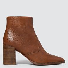 Georgia Block Heel Boot  TOFFEE  hi-res