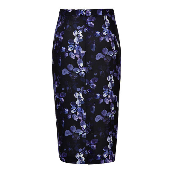Collection Floral Midi Skirt  FLORAL  hi-res