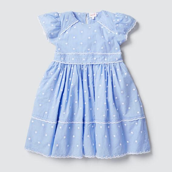 Embroidered Dress  CORNFLOWER  hi-res