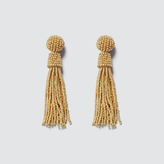 Chandelier Tassel Earrings  GOLD  hi-res