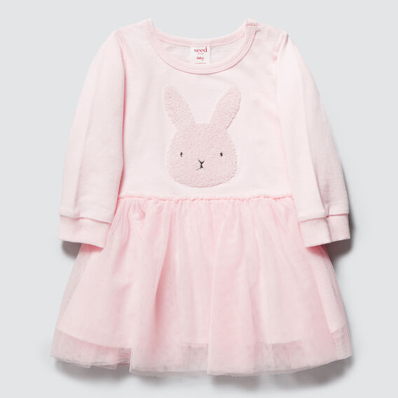 Bunny Tutu Dress  ICE PINK  hi-res