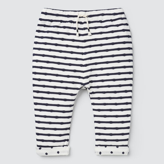 Double Knit Trackie  NAVY/CANVAS  hi-res