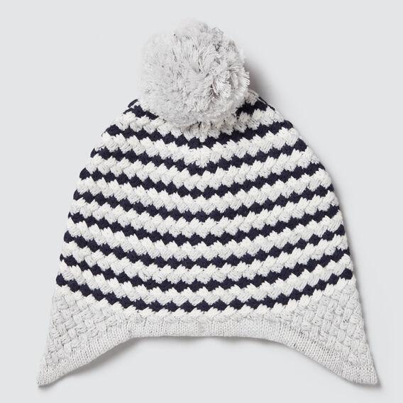 Bubble Knit Beanie  CLOUDY MARLE  hi-res