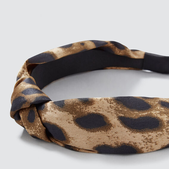 Knot Headband  ANIMAL  hi-res