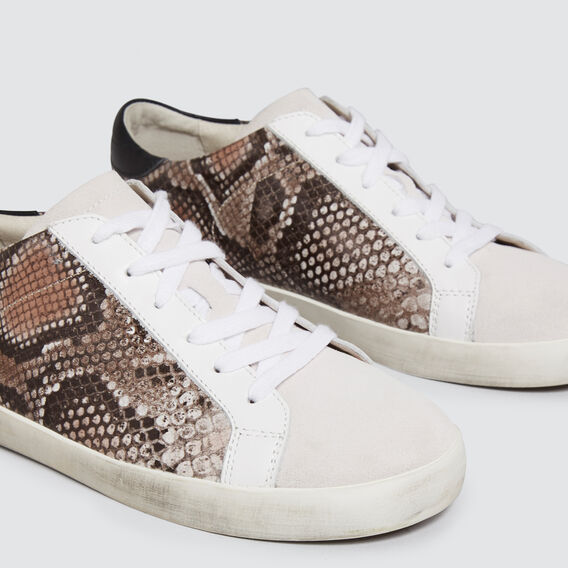 Ollie Leather Sneaker  SNAKE  hi-res