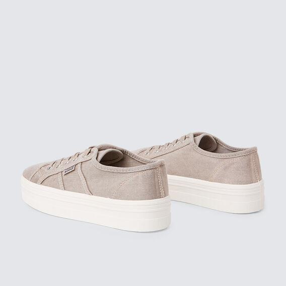 Billie Flatform Sneaker  GREY  hi-res