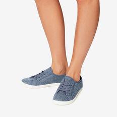 Taylor Lace Up Sneaker  DENIM OCELOT  hi-res