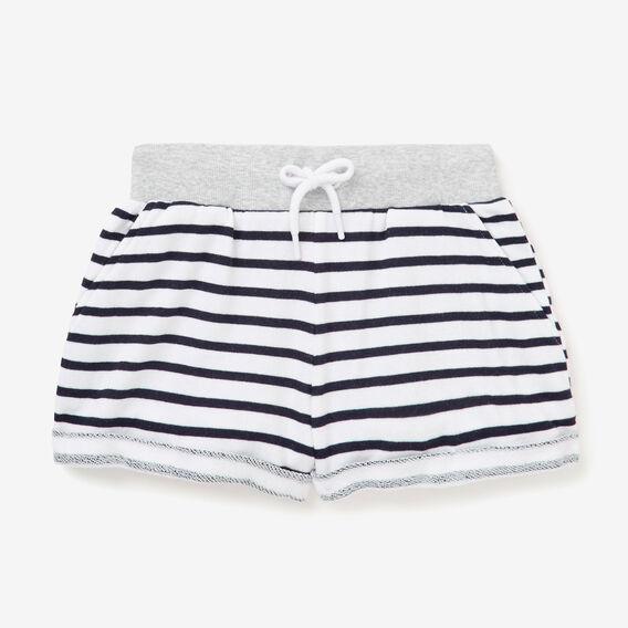 Stripe Short  NAVY/SNOW WHITE  hi-res