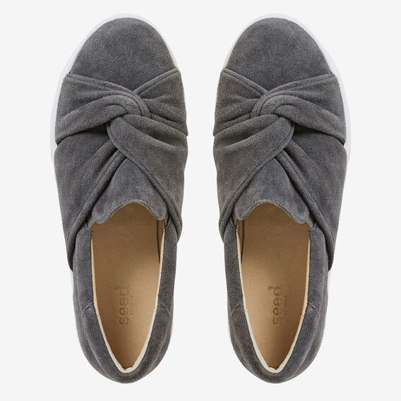 Jen Knot Sneaker  CHARCOAL  hi-res
