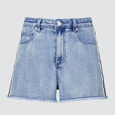 Side Stripe Short  BRIGHT WASH  hi-res