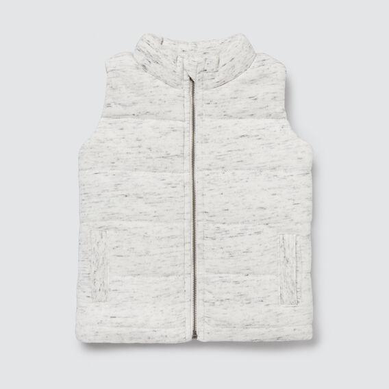Novelty Bear Vest  VINTAGE SPACE DYE  hi-res