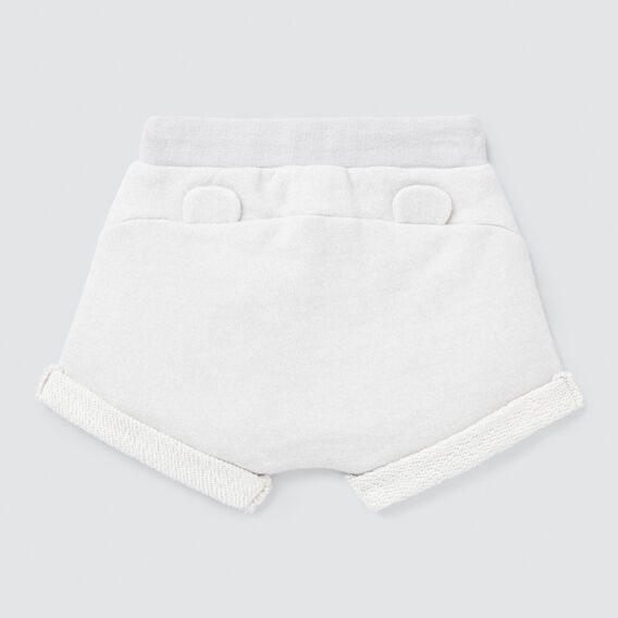 Speckle Roll Short  PALE GREY  hi-res