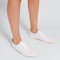 Tash Sneaker  WHITE/ PINK  hi-res