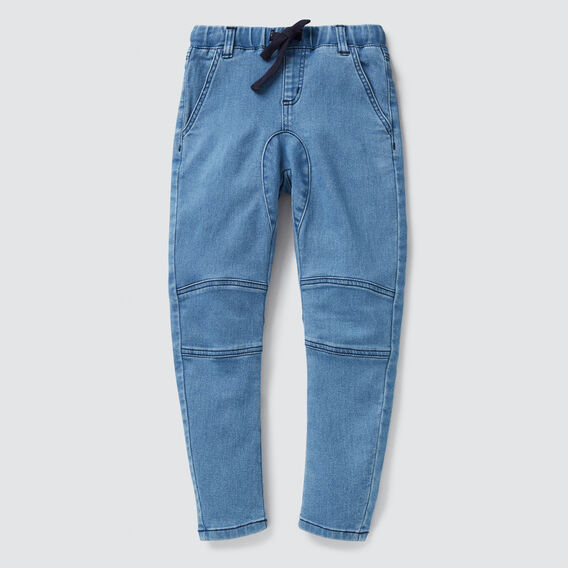 Knee Panel Denim Terry  VINTAGE BLUE  hi-res