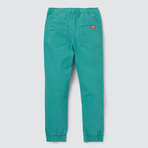 Easy Pull On Pant  TEAL  hi-res