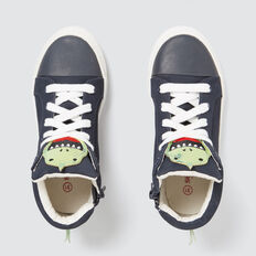 Dino High-top Sneaker  NAVY  hi-res