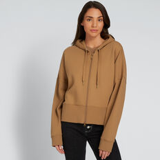 Zip Thru Hoodie  GINGERBREAD  hi-res