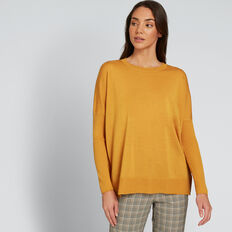 Babywool Comfy Sweater  GOLDEN MUSTARD  hi-res