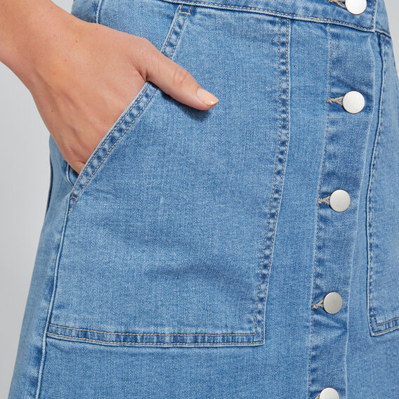 Patch Pocket Denim Mini  CLASSIC DENIM  hi-res
