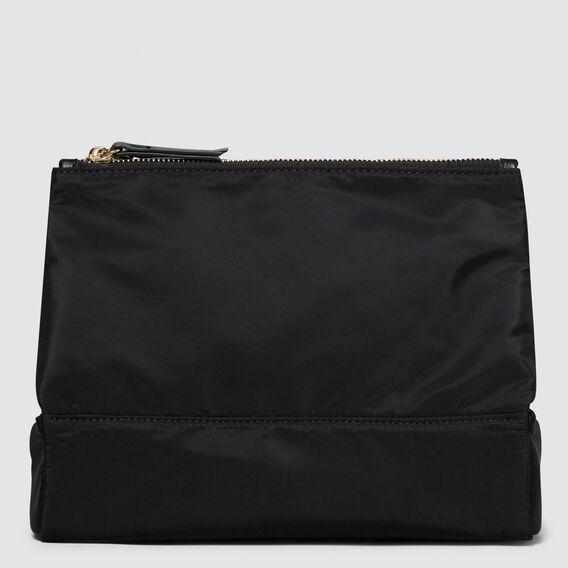 Folding Beauty Bag  BLACK  hi-res