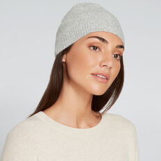 Classic Knit Beanie  GREY  hi-res