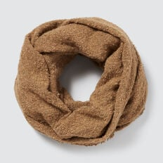 Boucle Knit Snood  GINGERBREAD  hi-res