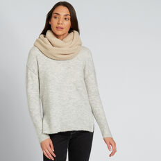 Teddy Snood  CREAM  hi-res