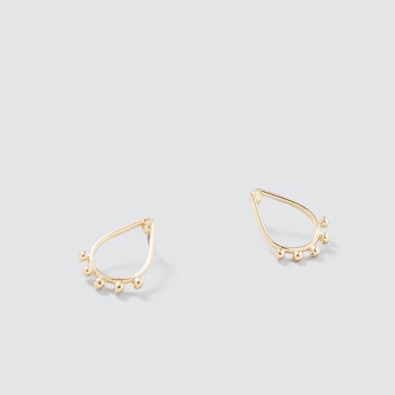Teardrop Earrings  GOLD  hi-res
