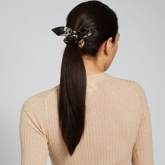 Chain Scrunchie  CHAIN PRINT  hi-res