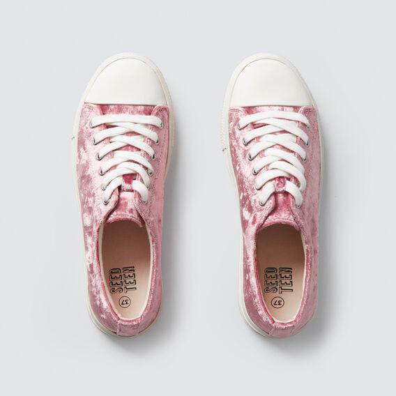 Velvet Sneaker  PINK  hi-res