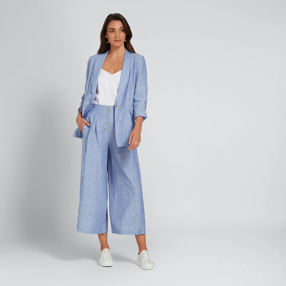 Cross-Dye Culotte  CROSSDYE SKY BLUE  hi-res