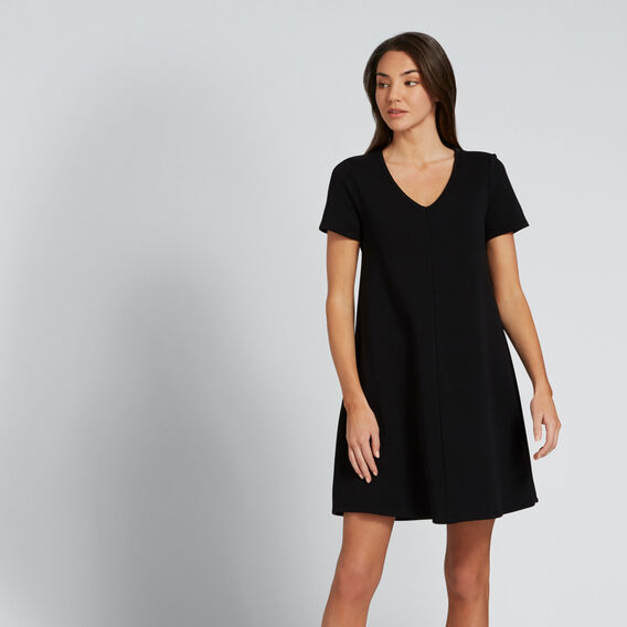 Casual Swing Dress  BLACK  hi-res