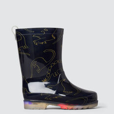 Dino Gumboot  NAVY  hi-res