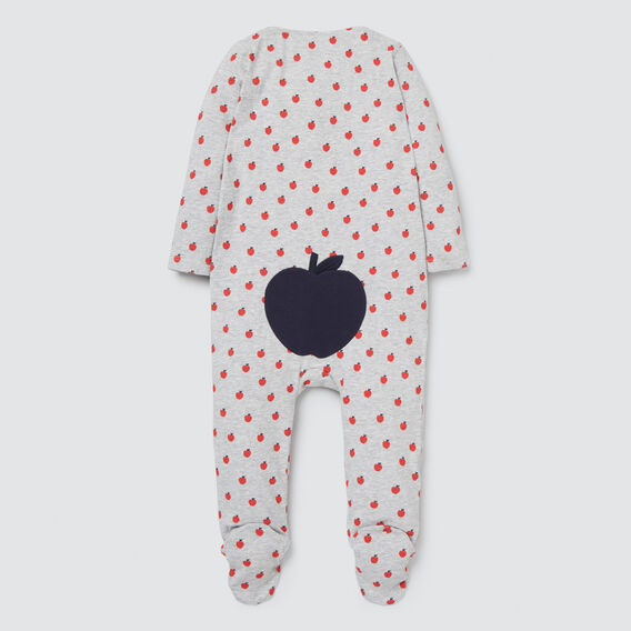 Apple Yardage Zipsuit- Available in 00000  BIRCH MARLE  hi-res