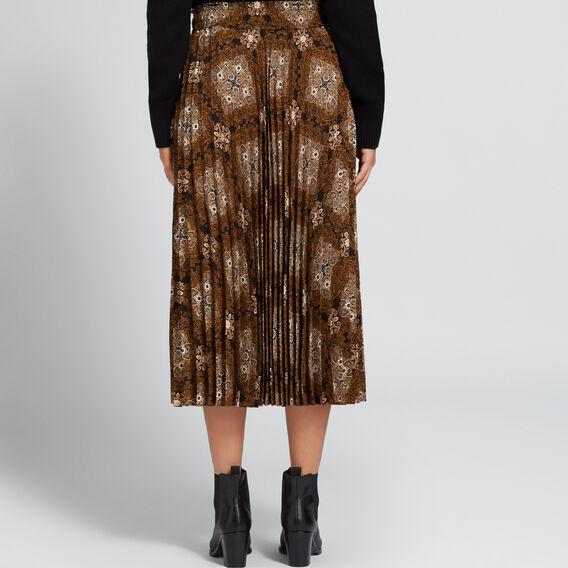 Pleated Skirt  PAISLEY  hi-res