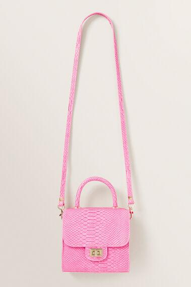 Croc Mini Handbag  FUCHSIA  hi-res