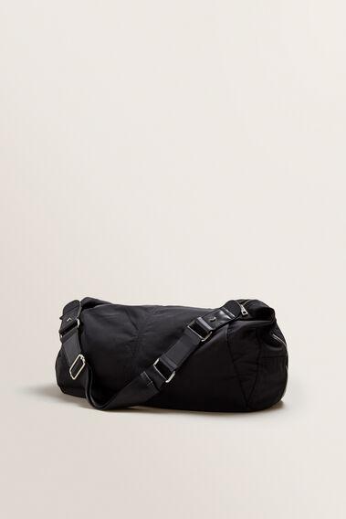 Spliced Half Moon Bag  BLACK  hi-res