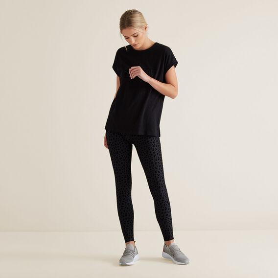 League Short Sleeve Tee  BLACK  hi-res