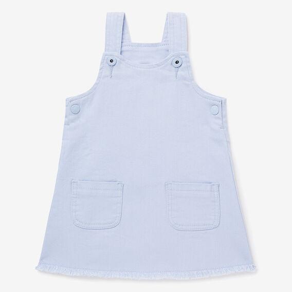 Denim Pinafore Dress  BLUEBELL  hi-res