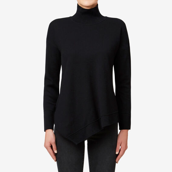 Roll Neck Sweater  BLACK  hi-res