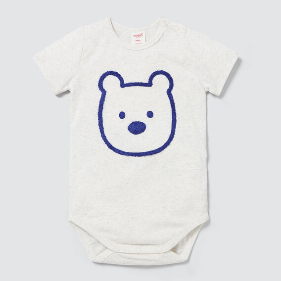 Chenille Bear Bodysuit  ICY MARLE  hi-res
