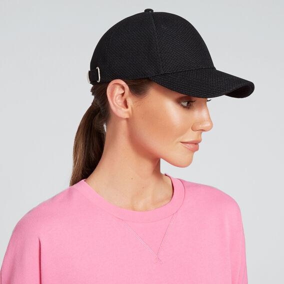 Mesh Knit Cap  BLACK  hi-res