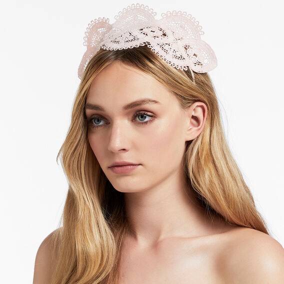 Lace Headpiece  PINK  hi-res