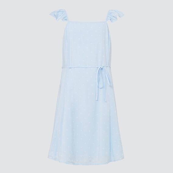 Spot Dress  BABY BLUE  hi-res