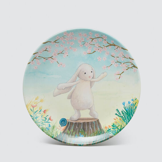 My Friend Bunny Melamine Plate  MULTI  hi-res