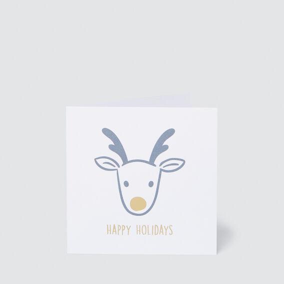 Small Happy Holidays Card  MULTI  hi-res