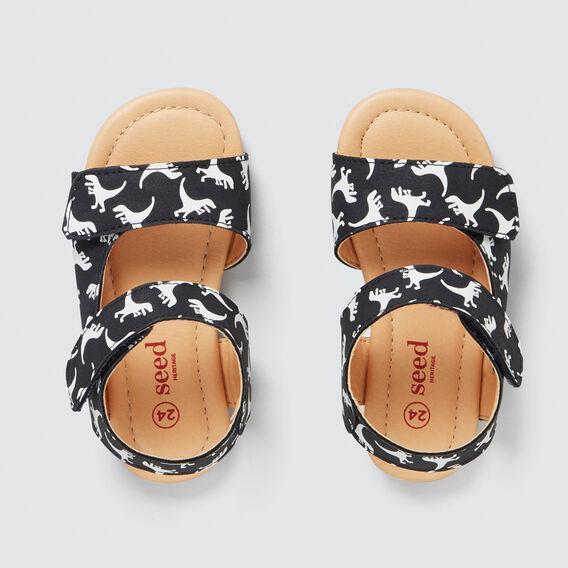 Toddler Dino Sandal  NAVY/WHITE  hi-res